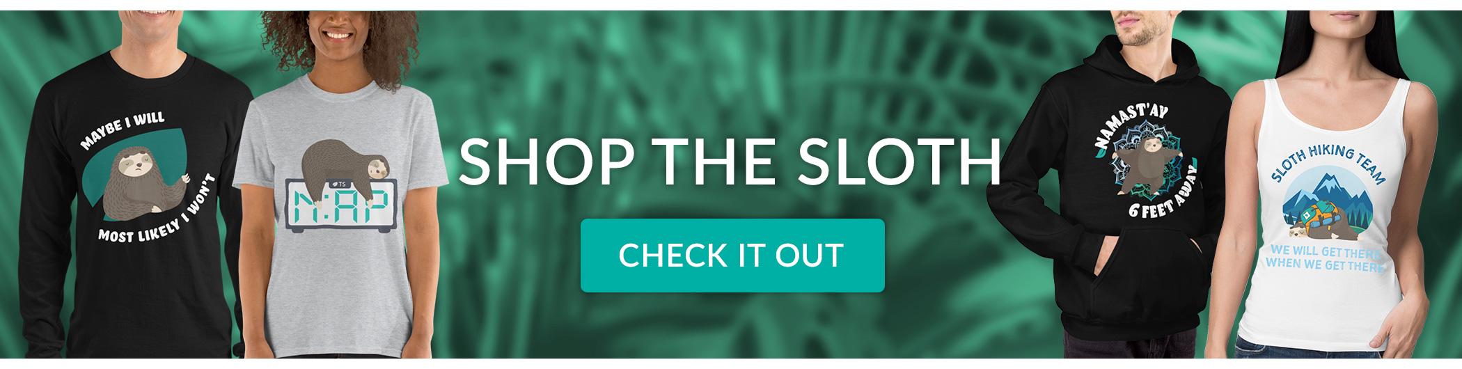 Trending Sloth Shop Banner